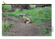 Red Fox In Yellowstone Carry-all Pouch