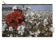 Red In The Cotton  Carry-all Pouch