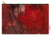 Red Is The Color Of Love Carry-all Pouch