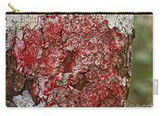 Red Lichen  Carry-all Pouch