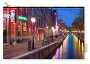 Red Light District In Amsterdam Carry-all Pouch