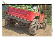 Red Off Road Car  Carry-all Pouch