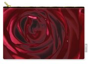 Red Rose Abstract 2 Carry-all Pouch
