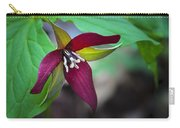 Red Trillium Carry-all Pouch