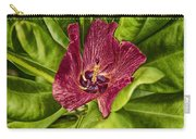 Red Tropical Tree Flower Carry-all Pouch