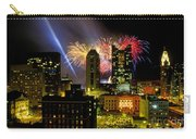 21l334 Red White And Boom Fireworks Display Photo Carry-all Pouch