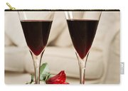 Red Wine And Roses Carry-all Pouch