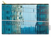 Reflections In Modern Glass-walled Building Facade Carry-all Pouch