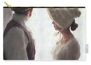 Regency Period Couple At The Window Carry-all Pouch