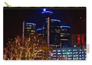ren Cen at Night Carry-all Pouch