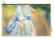 Renoir's Girl With A Hoop Carry-all Pouch