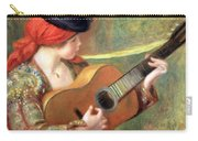 Renoir's Young Spanish Woman With A Guitar Carry-all Pouch