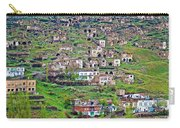 Residents Moved From Homes In Cliffs To Homes Below In 1951 In Cappadocia-turkey Carry-all Pouch