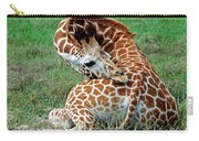 Reticulated Giraffe Resting Carry-all Pouch