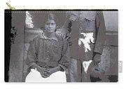 Revolutionary Couple In Studio Unknown Location 1915-1920-2014 Carry-all Pouch