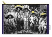 Revolutionary Soldiers Unknown  Mexico Location 1914-2014 Carry-all Pouch