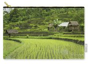 Rice Fields In Bali Indonesia Carry-all Pouch