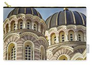 Riga Orthodox Cathedral Carry-all Pouch