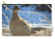 Ring Neck Hen Carry-all Pouch