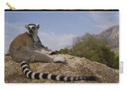 Ring-tailed Lemur Portrait Madagascar Carry-all Pouch