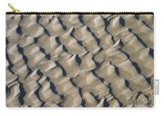 Ripple Pattern On Mudflat At Low Tide Carry-all Pouch
