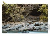 River Flowing Through Rocks, Zion Carry-all Pouch