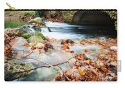 River Flowing Under Stone Bridge Carry-all Pouch