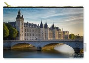 River Seine And Conciergerie Carry-all Pouch