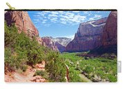 River Through Zion Carry-all Pouch