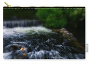 River Wye Waterfall - In Bakewell Peak District - England Carry-all Pouch