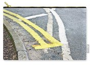 Road Markings Carry-all Pouch