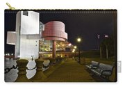 Rock N Roll Hall Of Fame Carry-all Pouch by Frozen in Time Fine Art Photography