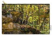 Rock Shelf And Forest Carry-all Pouch