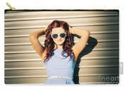 Rockabilly Greaser Pin-up. 50s Drive-in Culture Carry-all Pouch