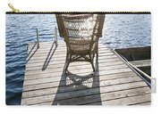 Rocking Chair On Dock Carry-all Pouch