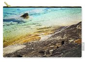 Rocks And Clear Water Abstract Carry-all Pouch