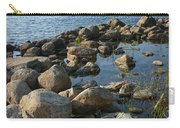 Rocky Shoreline In Acadia National Park Carry-all Pouch