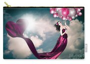Romantic Girl In Love With Beauty And Fashion Carry-all Pouch