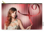 Romantic Woman In A Whirlwind Love Romance Carry-all Pouch