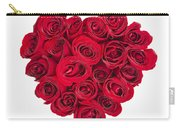 Rose Heart Carry-all Pouch by Elena Elisseeva