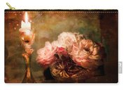 Roses By Candlelight Carry-all Pouch