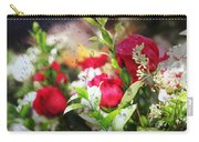 Roses In The Rain Carry-all Pouch