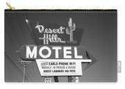 Route 66 - Desert Hills Motel Carry-all Pouch