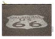 Route 66 - Oklahoma Shield Carry-all Pouch