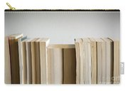 Row Of Books Carry-all Pouch