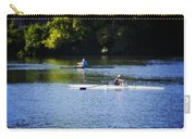 Rowing In Philadelphia Carry-all Pouch by Bill Cannon