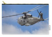 Royal Navy Eh-101 Merlin In Flight Carry-all Pouch