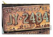 Rusted Plates Carry-all Pouch