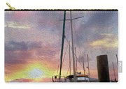 Sailboat Carry-all Pouch by Jon Neidert