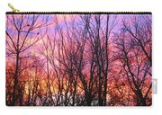 Red Sky In Morning Carry-all Pouch